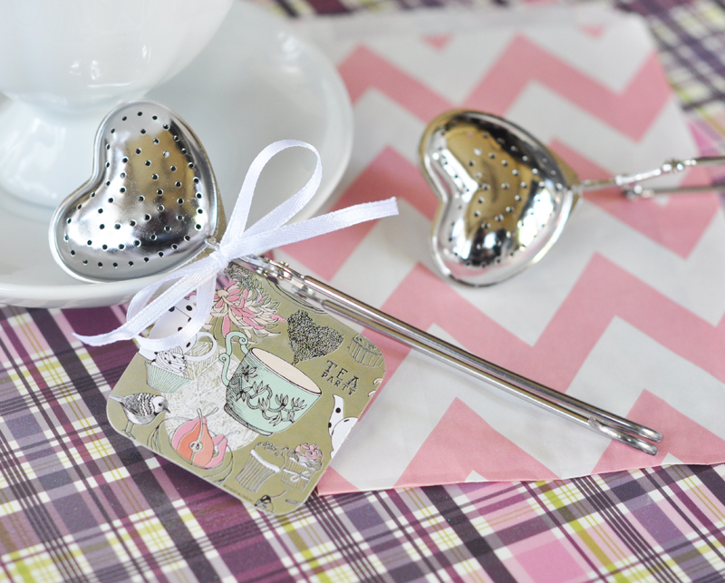 Heart Tea Infusers cheap favors