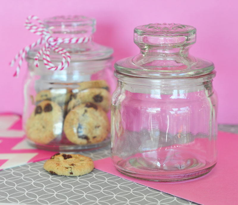 DIY Mini Cookie Jars cheap favors