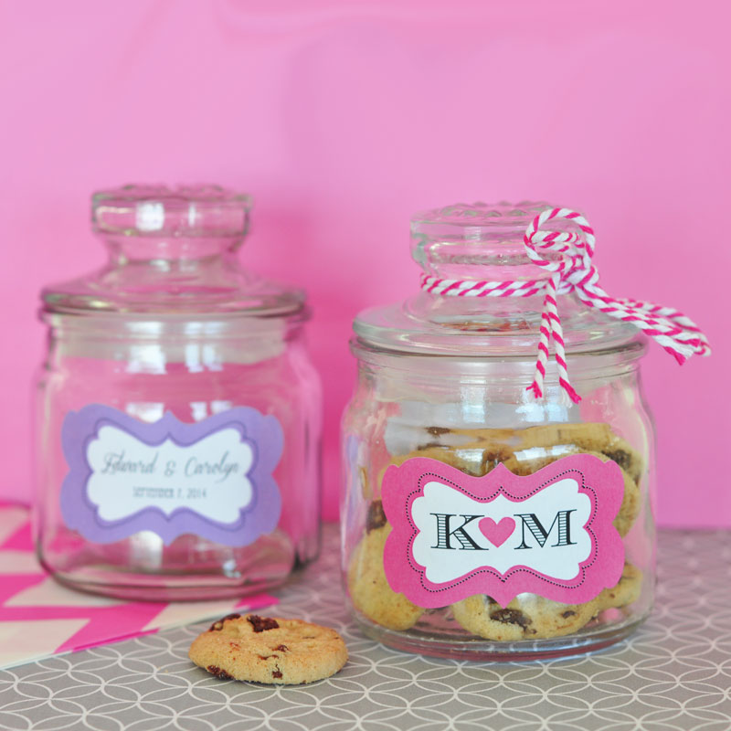 Personalized Mini Cookie Jars cheap favors
