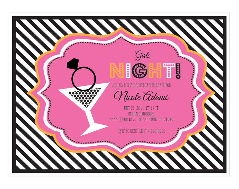Cheap Bachelorette Party Invitations is an amazing ideas you had to choose for invitation design