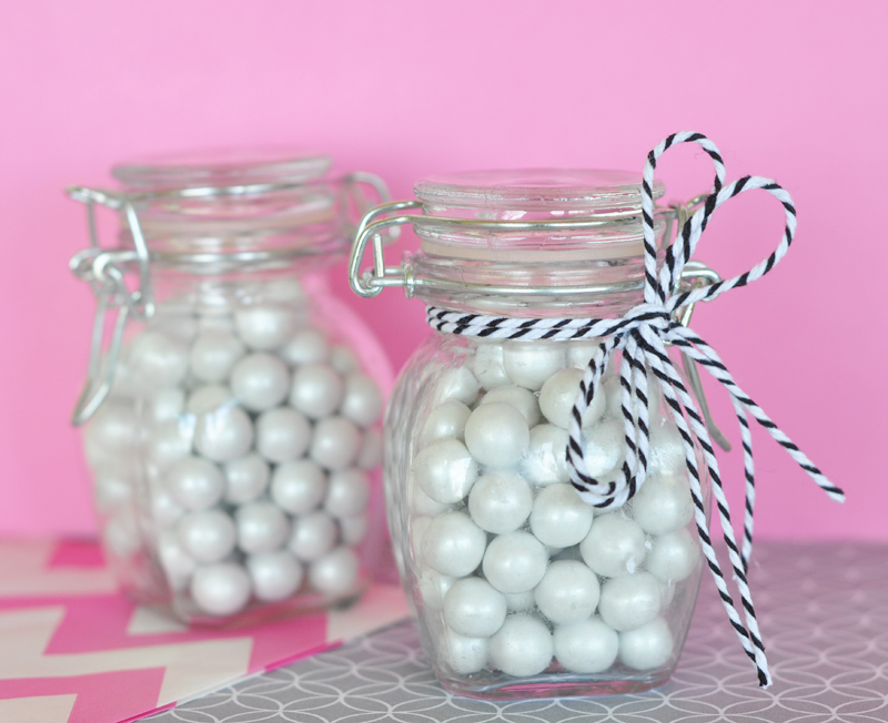 DIY Blank Glass Jar with Swing Top Lid - SMALL cheap favors