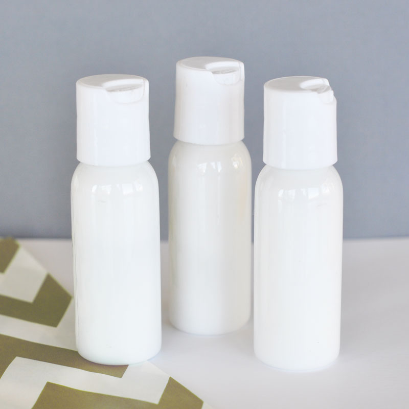 DIY Blank Lotion cheap favors