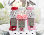 Mini Gumball Machine Place Card Holders cheap favors