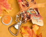 Autumn Magic Collection Leaf Design Bottle Openers cheap favors