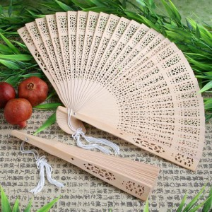 Sandalwood Fan Favor wedding favors
