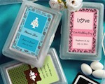 Personalized Expressions Playing Card Favors cheap favors