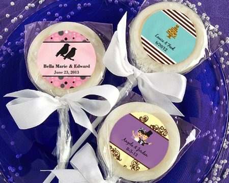 Design Your Own Collection Lollipop Favors cheap favors