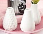 Three Assorted Bud Vases cheap favors