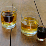 Lowball Shot Set with Two Lowball Glasses and Two Shot Glasses cheap favors
