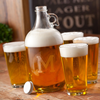 Personalized Beer Growler Set cheap favors