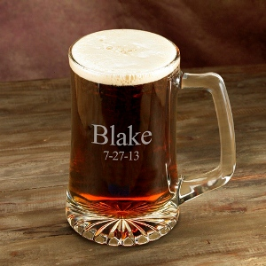 Personalized 25 oz. Sports Mug wedding favors