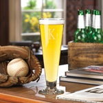Personalized Classic Pilsner Glass cheap favors