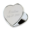 Personalized Heart Mirror Compact cheap favors