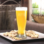Personalized Grand Pilsner Beer Glass cheap favors