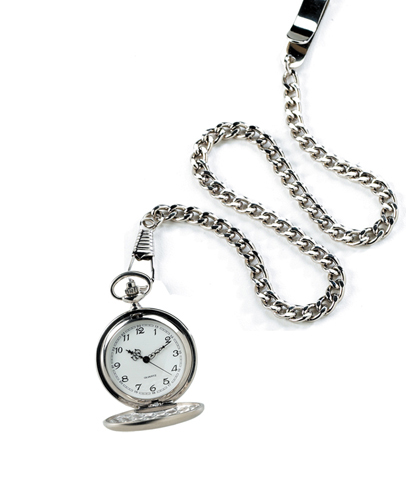 Personalized High Polish Pocket Watch wedding favors