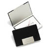 Black Leather Business Card Case cheap favors