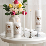 Second Marriage Unity Candle Set cheap favors