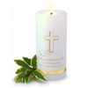 Personalized Baptismal Candle cheap favors