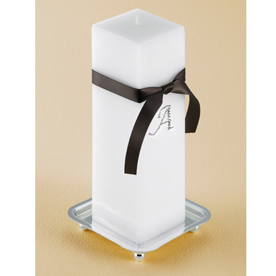 Personalized Luisant Unity Candle Set wedding favors