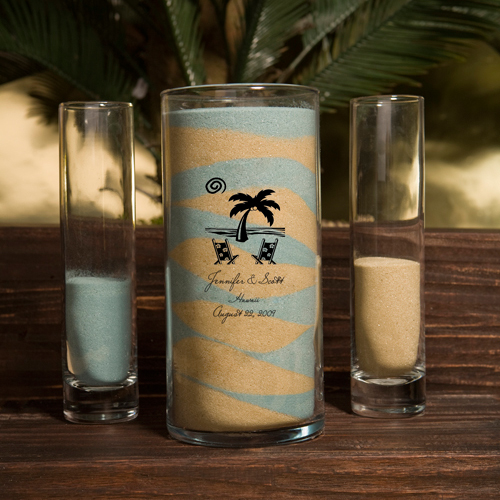 Sand Unity and Vase Sets wedding favors