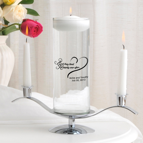 Floating Unity Candle Sets wedding favors