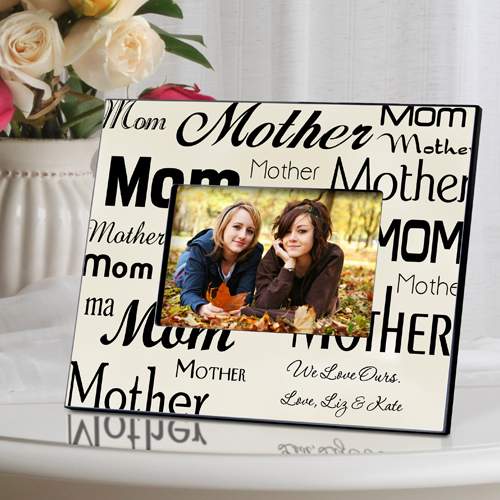 Mom-Mother Frame wedding favors