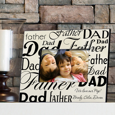 Dad-Father Frame wedding favors
