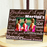 Personalized Bridesmaid Frame cheap favors
