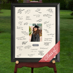 Personalized Celebrations Signature Frame cheap favors