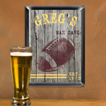Personalized Traditional Sports Man Cave Pub Signs cheap favors