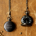 Personalized Midnight Pocket Watch cheap favors