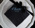 Personalized Wedding Napkins- Dinner Napkins cheap favors