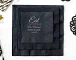 Eat Drink Be Married Personalized Napkin-Beverage Napkin cheap favors