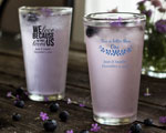 Personalized Pint Glasses cheap favors