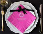 Rings Personalized Napkin-Dinner Napkin cheap favors