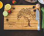 Personalized Tree Swing Cutting Board cheap favors