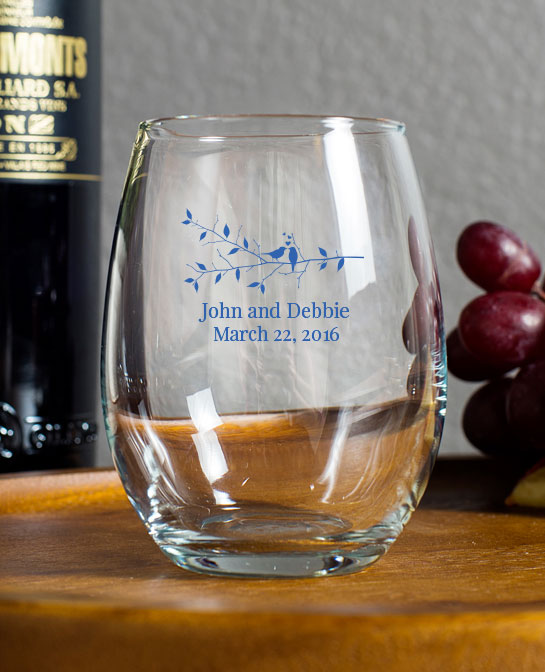 Etched Wine Glasses Wedding Gifts : Wine Glasses Mason Jars Engraved Glasses Personalized Gifts Design ...