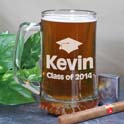 Class of Graduation Glass Mug cheap favors