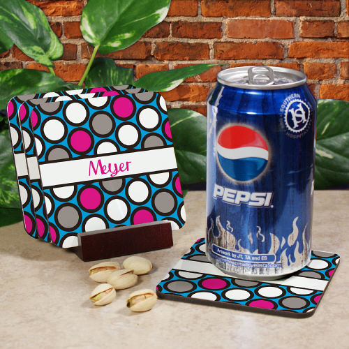 Personalized Drink Coasters For Her