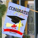 Personalized Graduation House Flag cheap favors