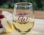 Personalized 15 oz. Stemless Wine Glass  cheap favors