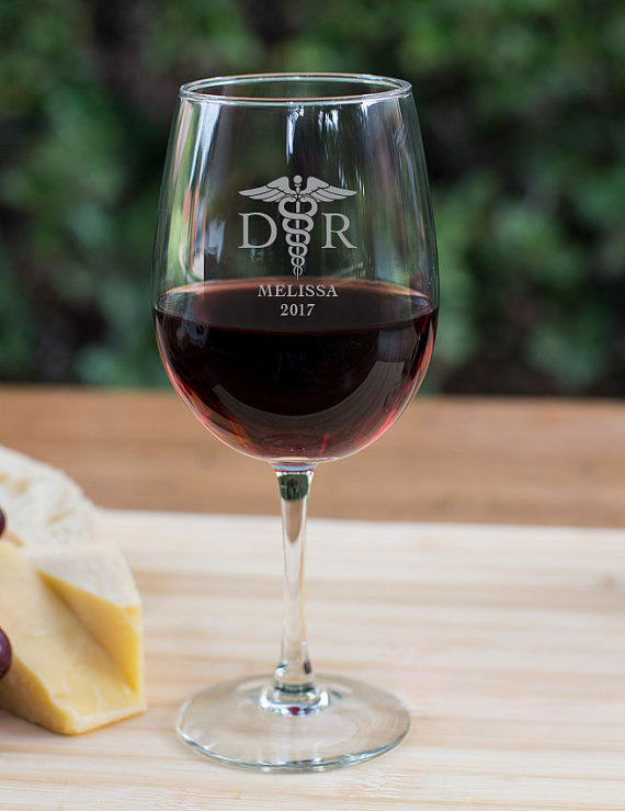 DR Wine Goblet wedding favors