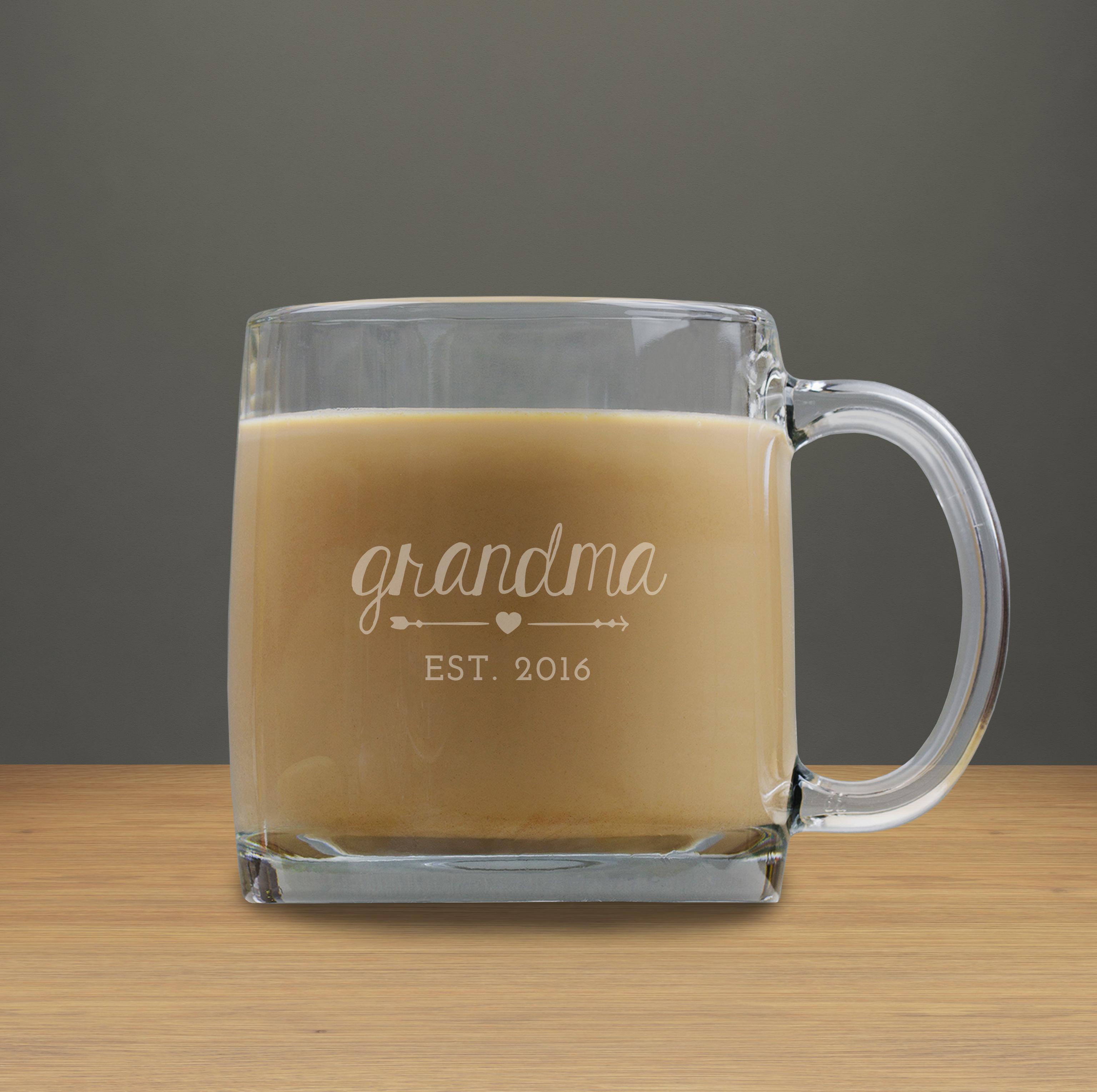 Grandma Engraved Coffee Mug